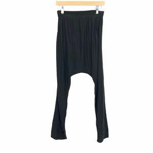 Livy 100% Silk Pajama Pants Small Black Sleepwear